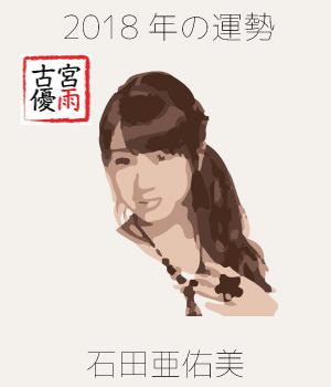 2018年のモーニング娘。'18の10期メンバー「石田亜佑美」さんを占ってみた