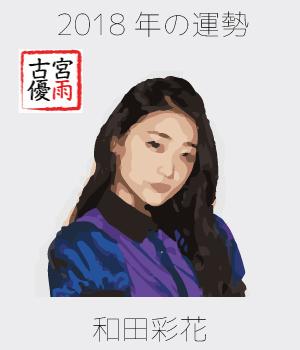2018年のアンジュルムの1期メンバー「和田彩花」さんを占ってみた