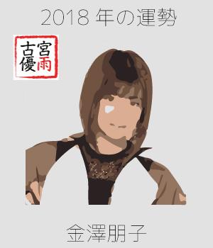 2018年のJuice=Juiceの1期メンバー「金澤朋子」さん