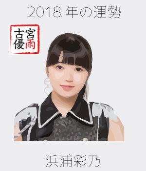 2018年のこぶしファクトリーのメンバー「浜浦彩乃」さん