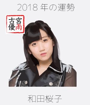 2018年のこぶしファクトリーのメンバー「和田桜子」さん