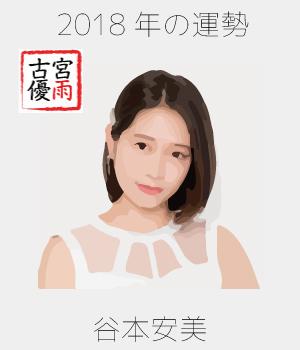 2018年のつばきファクトリーのメンバー「谷本安美」さん