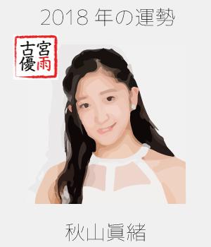 2018年のつばきファクトリーのメンバー「秋山眞緒」さん
