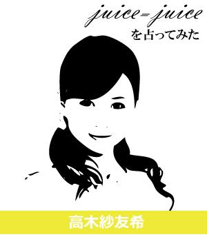 「高木紗友希」さんを占ってみた