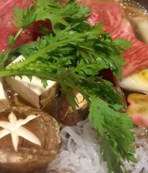 沖縄スタイルの料理「すき焼き編」