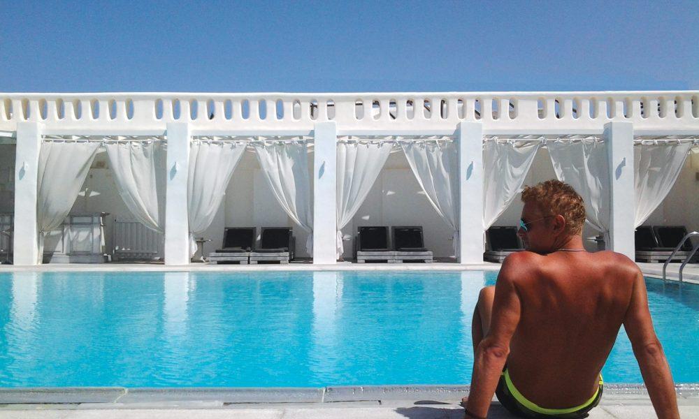 ミコノス島のゲイオンリーホテル Geranium Gay Residence